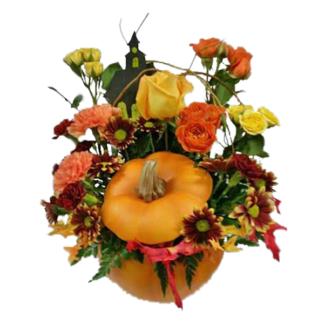 Halloween Pumpkin Flower Delivery In Pahrump Something Special Florist